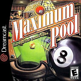 Maximum Pool Dreamcast cover art