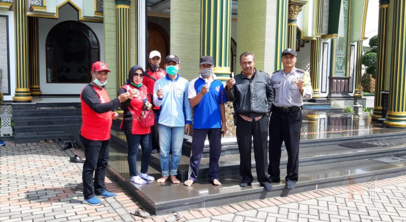Sekretaris DPC PDI Perjuangan Kabupaten Malang, Ajak Semua Kader Kerja Bakti Tangkal Corona
