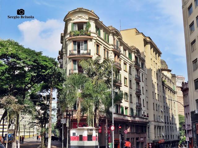 Vista ampla do Prédio Santa Ephigenia - Centro Histórico - São Paulo