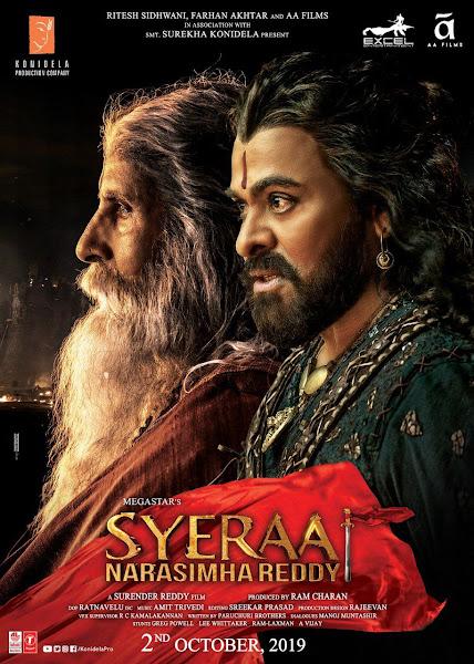 Poster of Sye Raa Narasimha Reddy (2019) Full Movie [Hindi-DD5.1] 720p HDRip ESubs Download