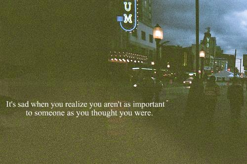 important person- heartbroken quotes