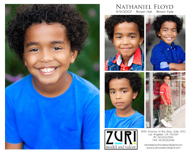 Nathaniel Floyd Headshot Photos
