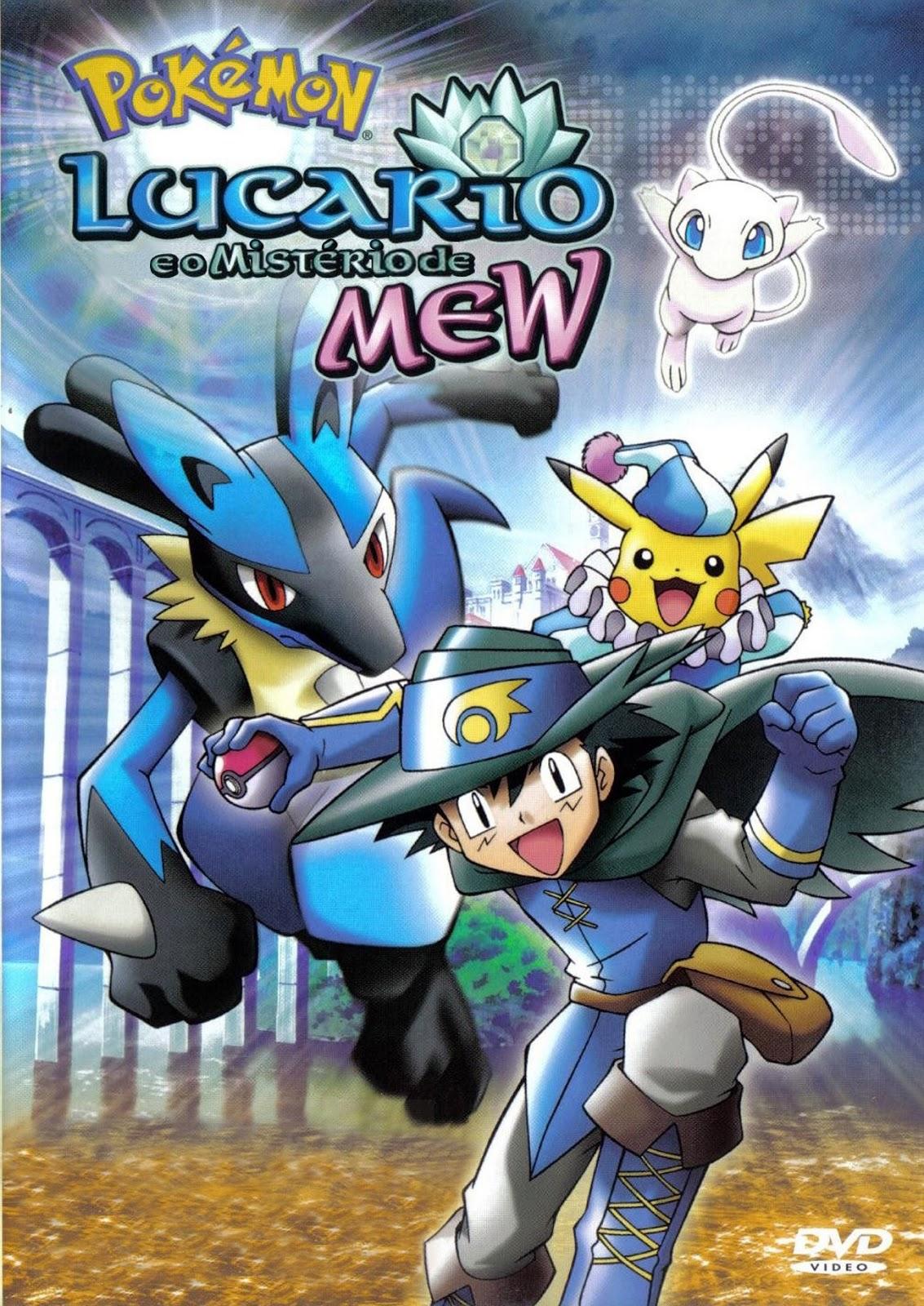Poster do filme Pokémon 8: Lucario e o Mistério de Mew
