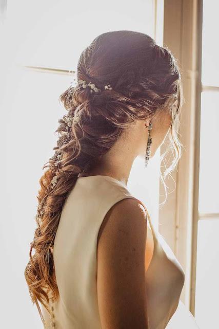 Trenzas para peinados de novias