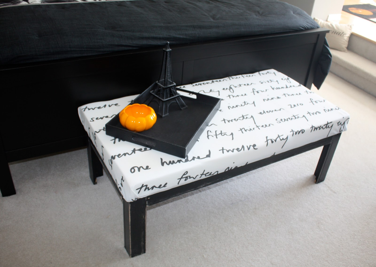 She Re-Purposed It: Coffee Table Turned Bench