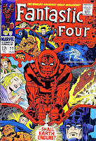 Fantastic Four v1 #77 marvel 1960s silver age comic book cover art by Jack Kirby