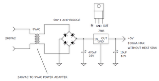 240vac to 5vdc power supply circuit diagram. Black Bedroom Furniture Sets. Home Design Ideas