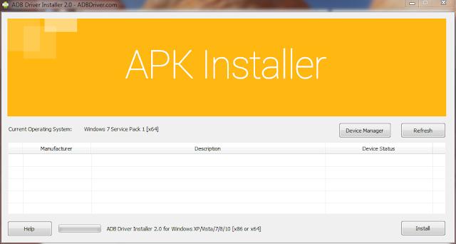 Install Xiaomi Driver