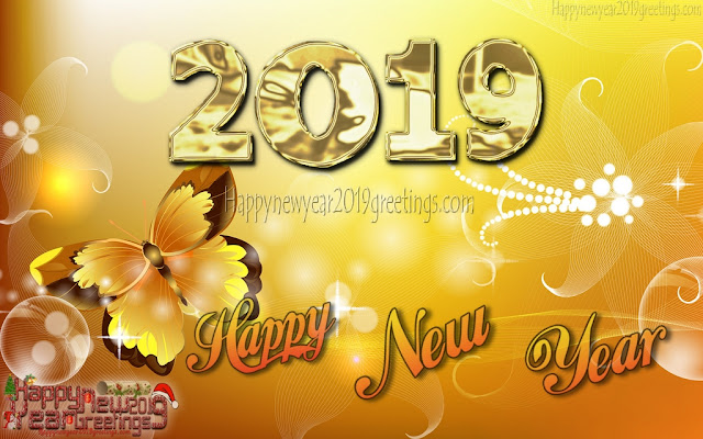 New Year 2019 4K ultra HD Golden Background Images Download For desktop - Happy New Year 2019 Golden Desktop Images