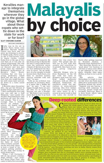 Jennifer Kumar, featured expat in Kerala