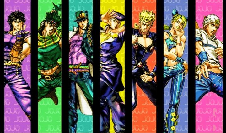 La serie de manga está escrita por Hirohiko Arako y publicada por Shueisha y fue lanzada en 17 volúmenes. La parte 6 de Jojo está precedida por Golden Wind y seguida por Steel Ball Run.