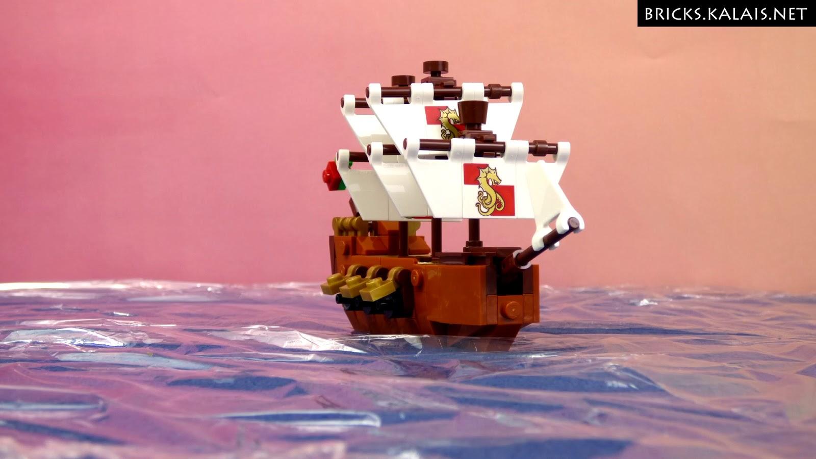 [Brickfilm] Ship in the bottle 21313