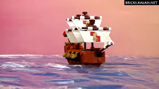 [Brickfilm] Ship in the bottle 21313