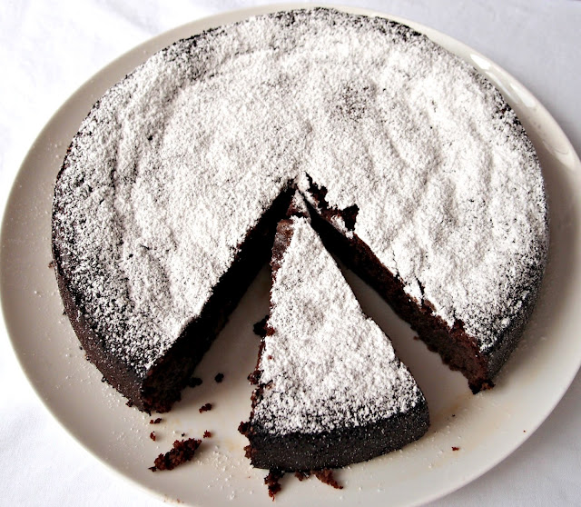 Milk And Honey Flourless Chocolate Lime Cake With