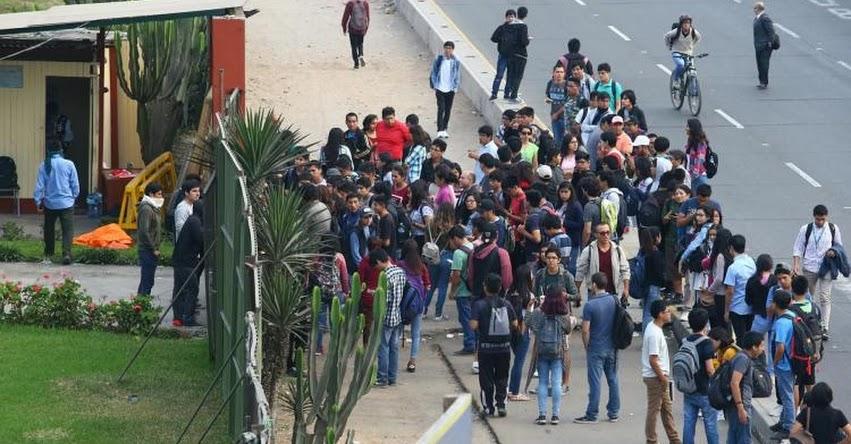 UNMSM: Estudiantes toman universidad de San Marcos por inicio de estudios generales