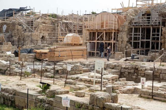 Israel's ancient port city of Caesarea gets facelift