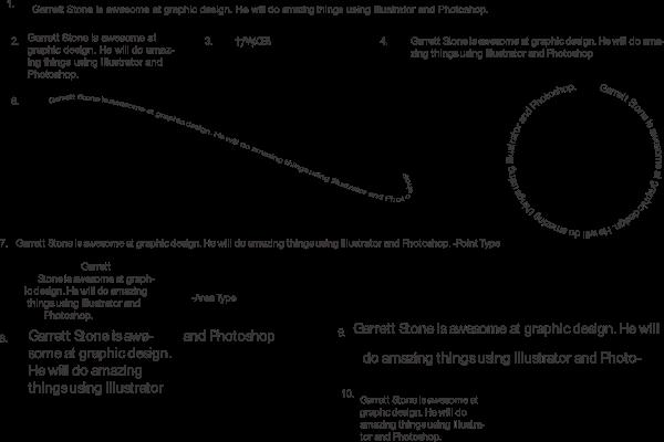 Garrett's Graphic Design Blog: Typography Worksheet- Absent