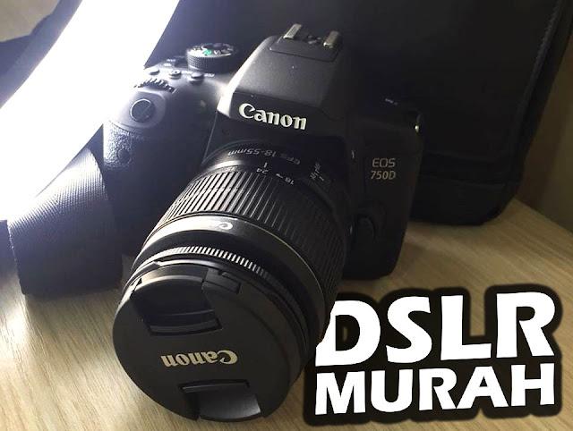 Canon EOS 750D (fotografer pemula)