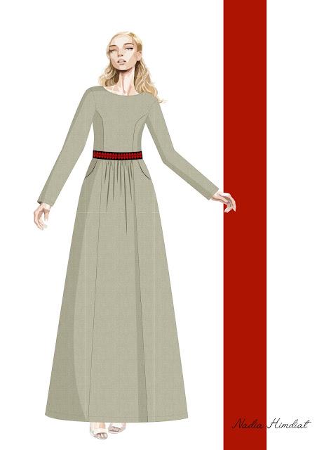 Платье. Модель PL-398