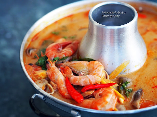 Seafood Red Tom Yum Soup