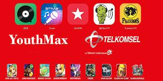 Cara Menggunakan Kuota Youthmax Telkomsel