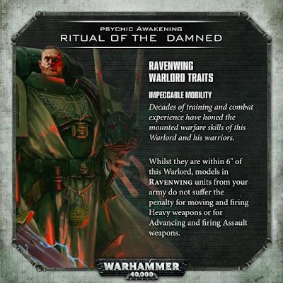 Ravenwing Warlord Trait