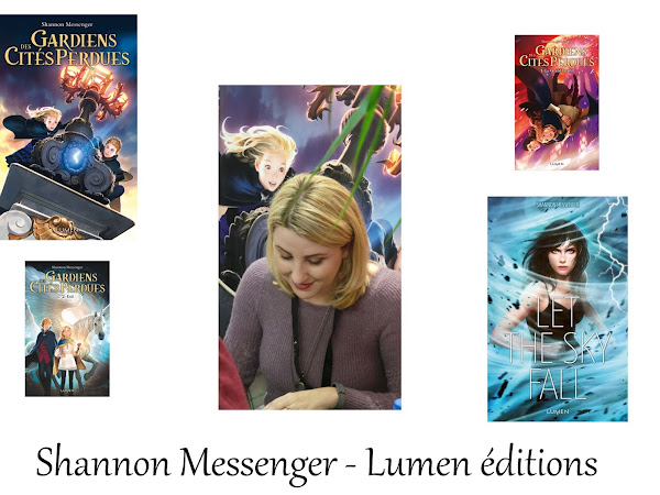 [Interview] Shannon Messenger - Lumen éditions