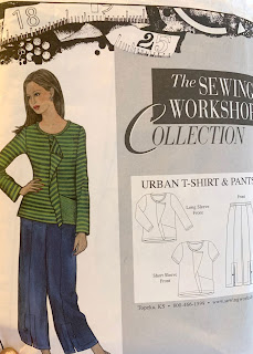 The Sewing Workshop Urban T-shirt Pattern cover