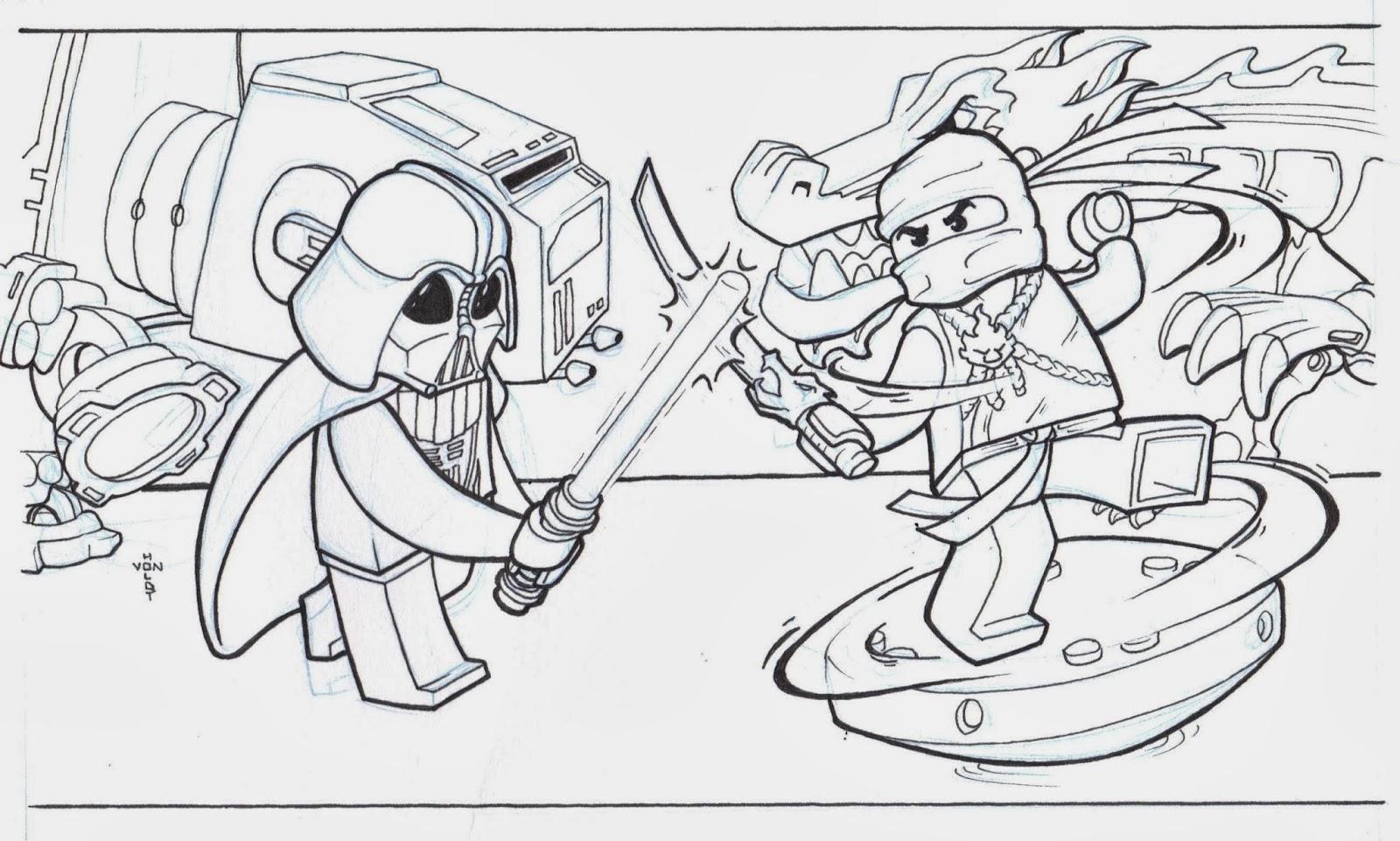 Ninjago Bilder Zum Ausmalen Und Ausdrucken