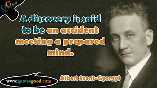 Albert Szent-Gyorgyi motivational quotes