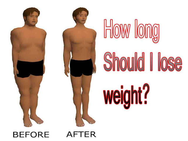 How long should I lose weight?