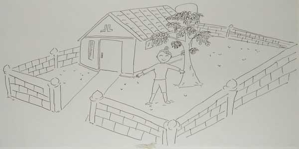 soal psikotes gambar rumah pohon orang