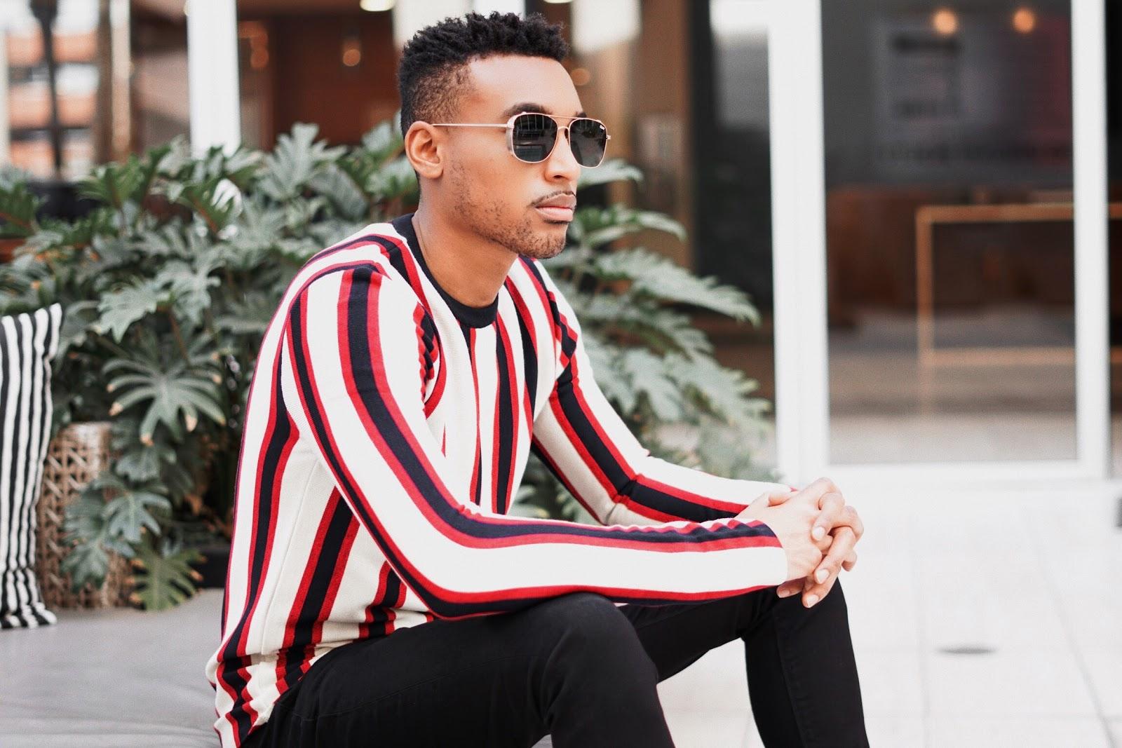 stripe sweaters for men striped sweaters mens fashion mens style vertical stripe sweater sweaters for men menswear sweaters