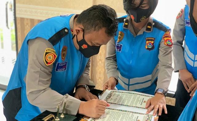 Rekrutmen Bintara Polri Murni Kompetisi