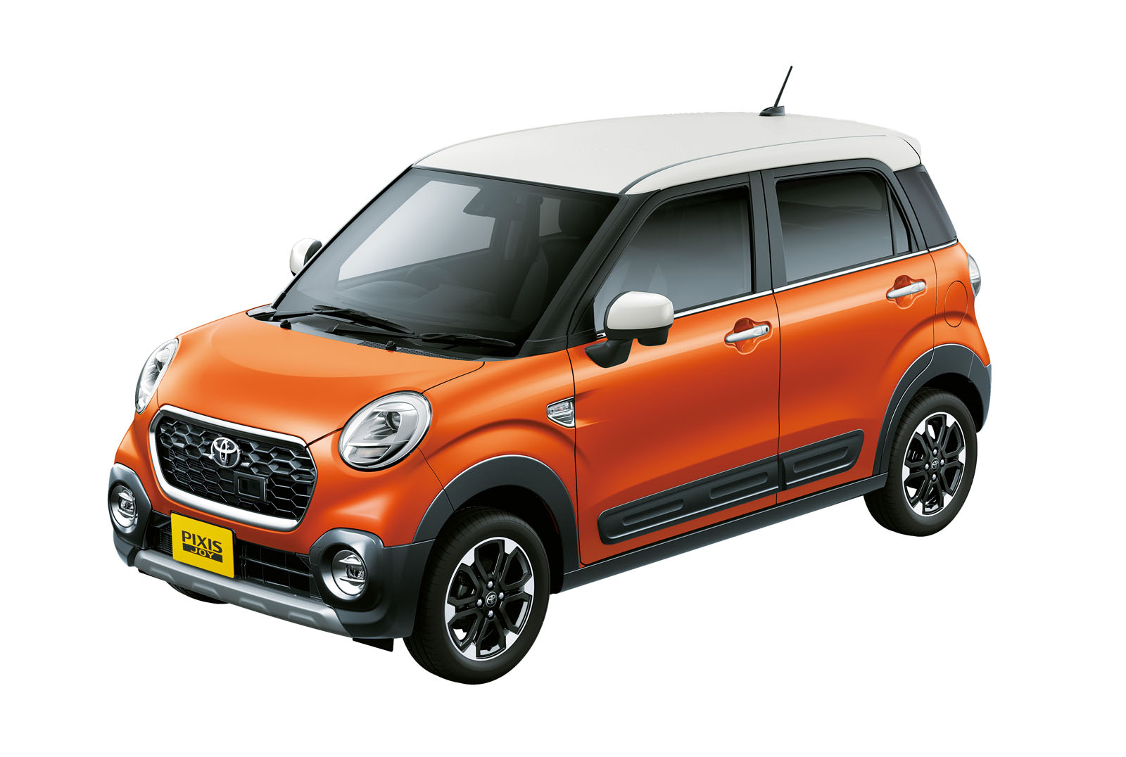 Toyota Goes Retro With Pixis Joy Kei Cars In Japan 50