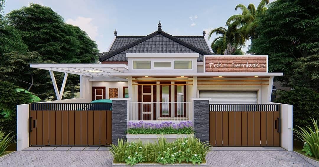 Desain dan Denah Rumah Toko Terbaru Yang Elegan, Nyaman ...