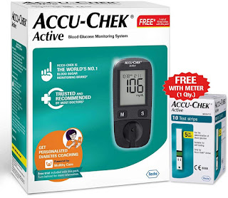 Accu-Chek Active Blood Glucose Meter for home use