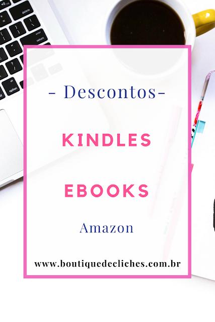 Kindles e-books com Desconto