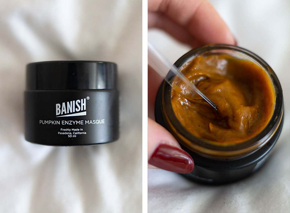 Banish-skincare-starter-kit-pumpkin-enzyme-masque-review