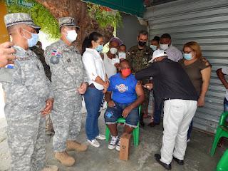 Finaliza con éxito Jornada de Vacunación masiva en Azua