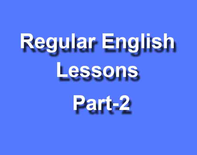 Regular English Lessons