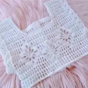 Canesú Bebé a Crochet