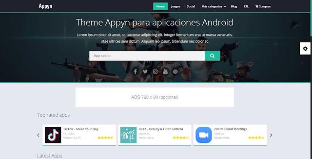 Theme Wordpress Appyn v1.5.4 Themespixel