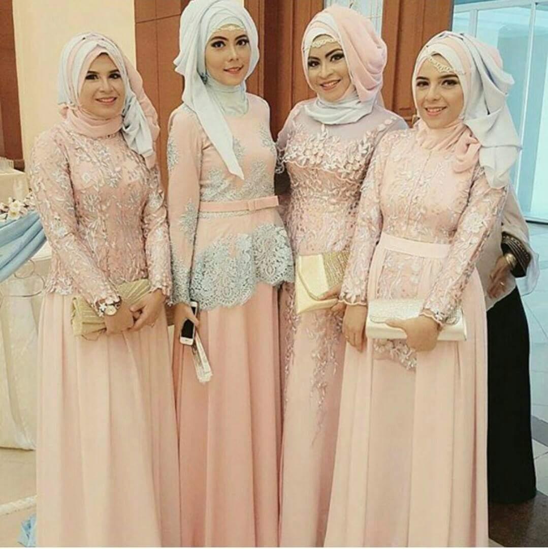 Baju Muslim Keluarga Untuk Acara Pernikahan Jilbab Gucci