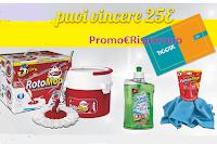Logo SuperFive ''Scegli il pulito, puoi vincere 25€'' : in palio 1300 Gift Card Tigotà