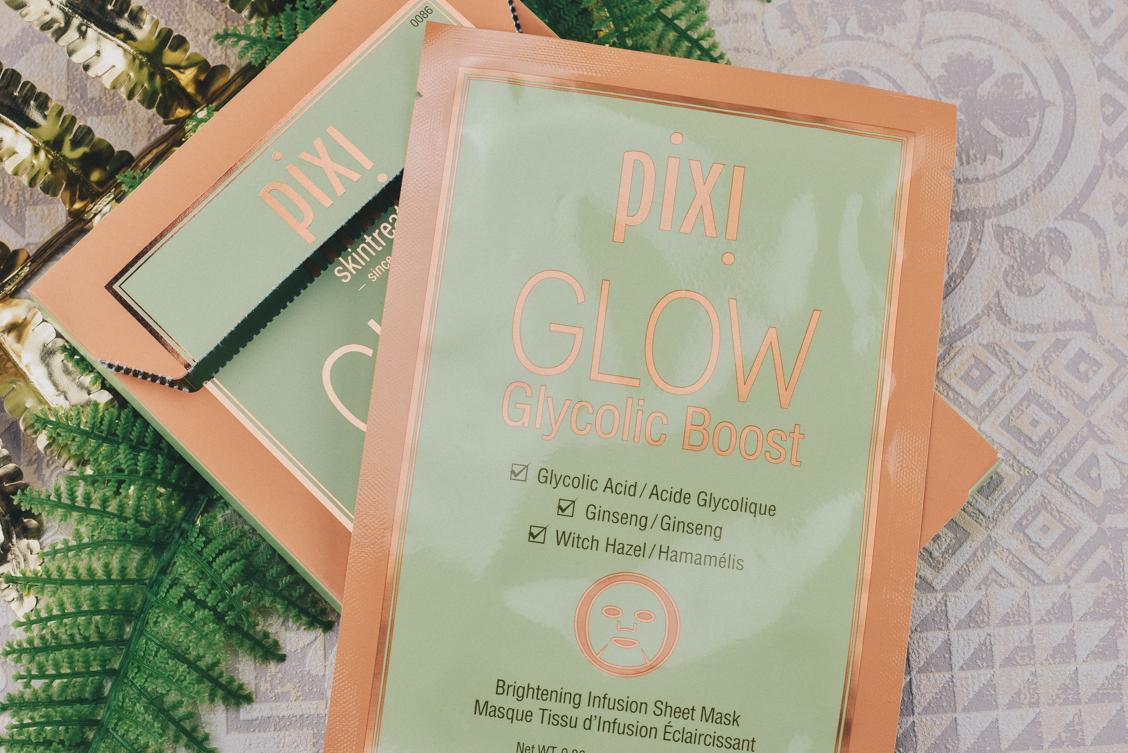 Lieblinge Favoriten Pixi gepflegte strahlende Haut Glow Tuckmaske