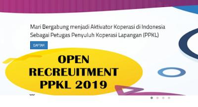 rekrutmen PPKL Kemenkop UKM 2019