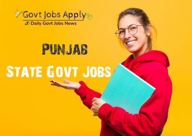 Punjab Latest Govt Jobs