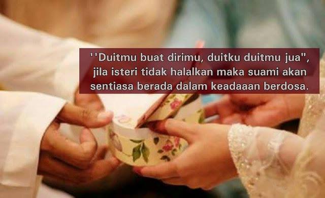 5 nafkah isteri suami wajib tahu dan tunaikan
