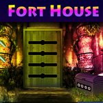 Play Games4King Fort House Escape